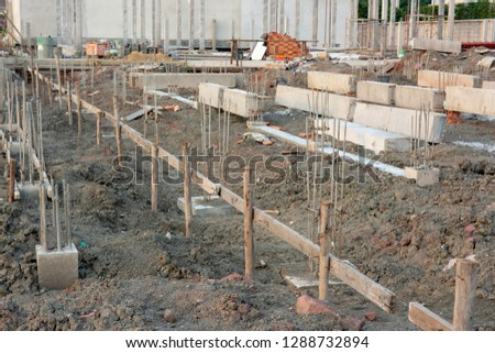 Foundation piles for building construction