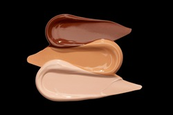 foundation trio skin tones makeup