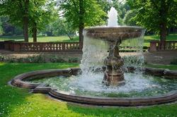 Fountain A fountain in a public park
