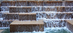 Fountain at the San Antonio Riverwalk