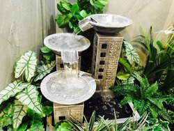 Fountain mini or waterfall indoor look beautiful and suitable for background