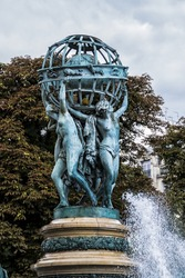 Fountain of Observatory or Four continents (