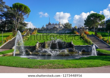 Fountain of Parc Jouvet, Valence, France