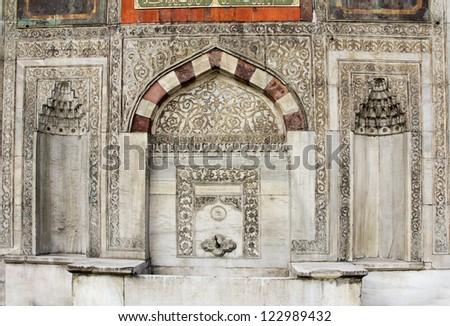 Fountain of Sultan Ahmed III, Istanbul,Turkey (V-Format ID 162051104)