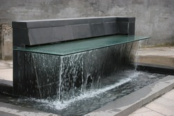 Fountain With water