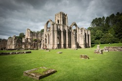 Fountains Abbey, North Yorkshire, England