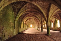Fountains Abbey, Ripon, Yorkshire