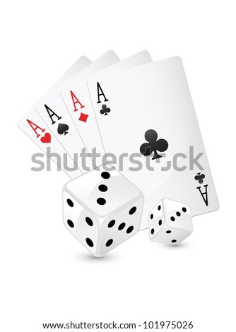 four aces and dice