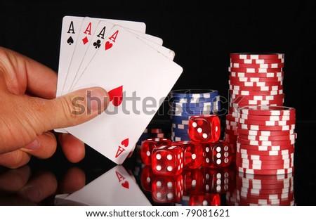 Four aces triumph