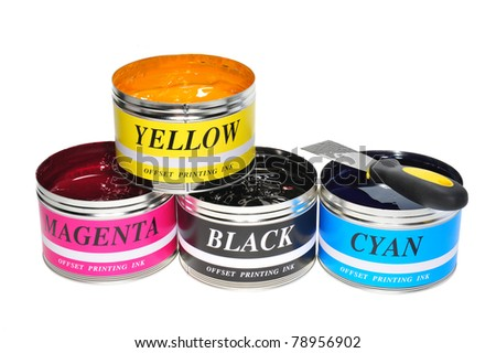 Four Basic Color Of Offset Printing Ink