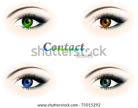 Eyes+with+contact+lenses+pictures