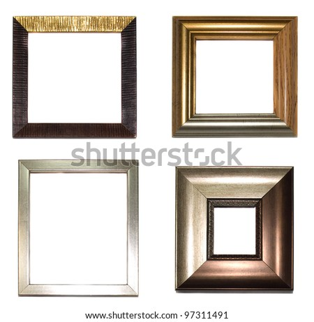 four frames on a white background/ four frames 04