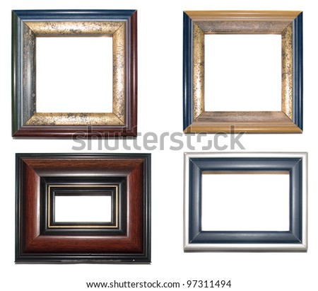 four frames on a white background/ four frames 03