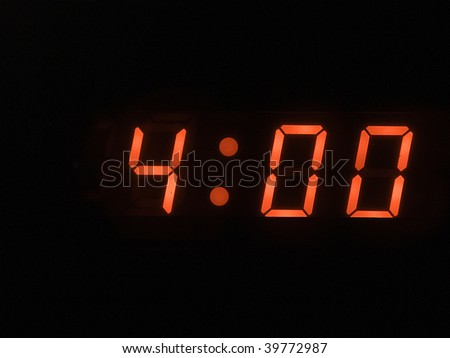 four o clock am