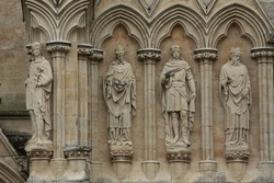 Four Salisbury Cathedral Statues