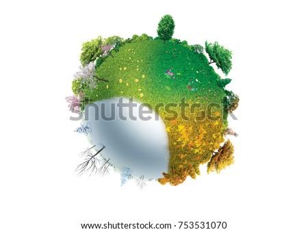 four seasons on planet Earth