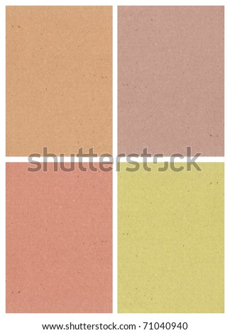 four shade of texture paper suitable for graphic work