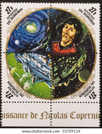 Nicholas Copernicus Solar System http://www.shutterstock.com/pic-33709114/stock-photo-four-stamps-of-postages-devoted-nicolaus-copernicus-and-solar-system-objects.html