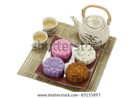 Four taste Mooncake