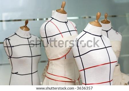 Four Taylor mannequins