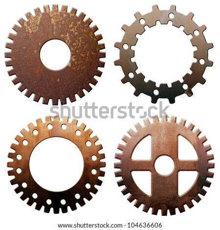 four wheel gear illustration