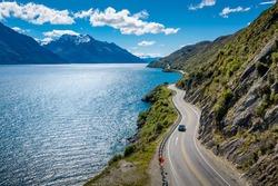 Fox glacier great landscape in Newzealand
