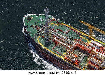 FPSO - Floating, Production, Storage and Offloading Vessels.