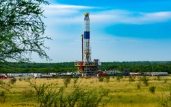 Fracking An American Shale Well