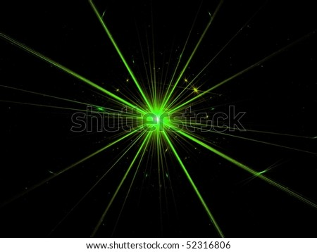 Fractal Abstract Background - Supernova Explosion Stock ...