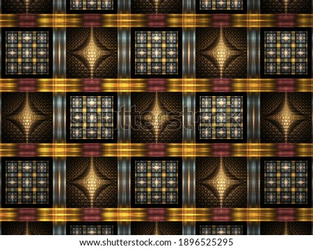 Fractal art that shows the beauty of mathematics Foto stock ©