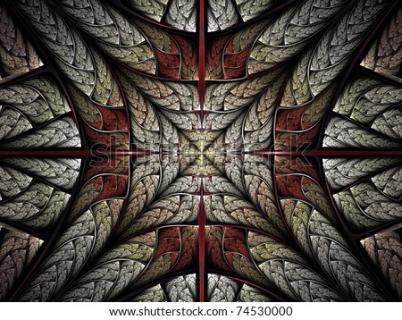 Fractal cross abstraction #74530000