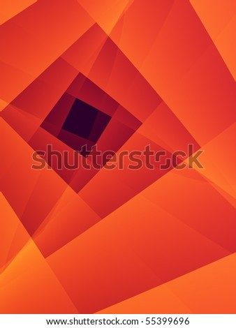 Fractal image depicting an abstract World Wide Web.