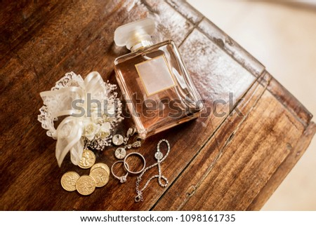 fragance jewelry wedding bride #1098161735