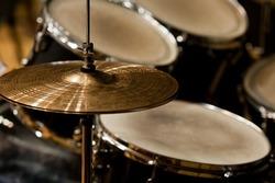 Fragment drumset closeup