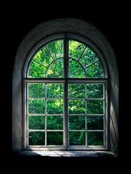 Frame in a frame, Old window in Mathildedal