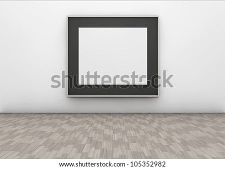 frame in a wall