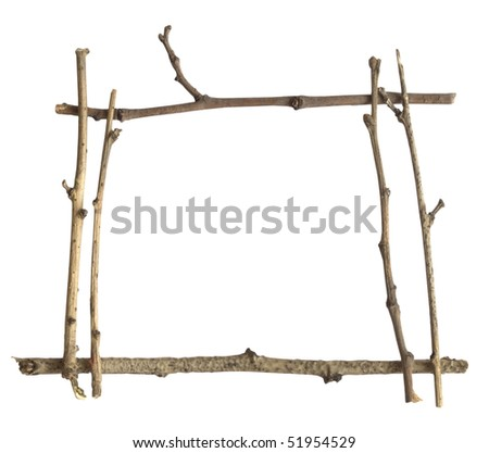 frame of branches