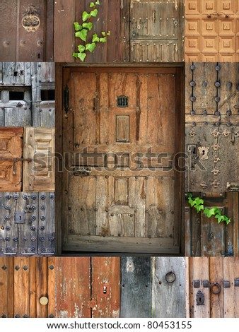 frame of doors