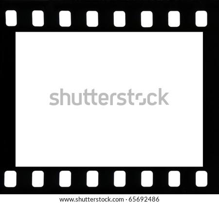 Frame of negative film