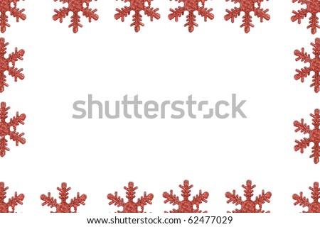 Frame of snowflake #62477029