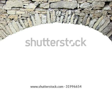 frame of stones