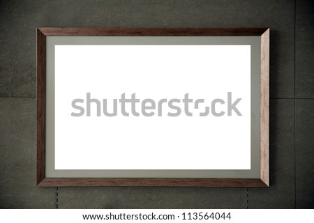 frame on wall/coffee shop photo frame wall