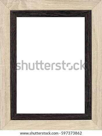 frame picture in white background