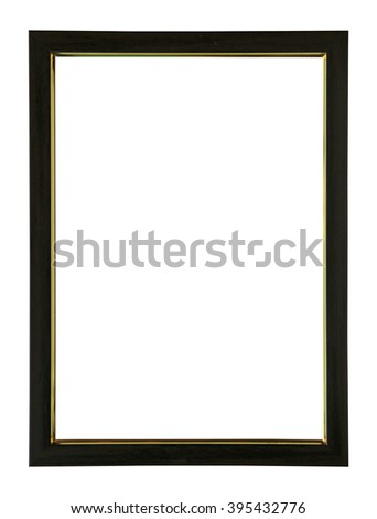 Frame with for picture isolate on white #395432776