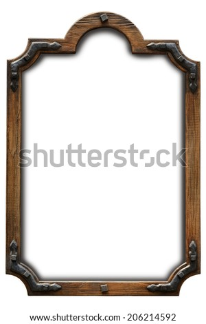 Frame wood country style
