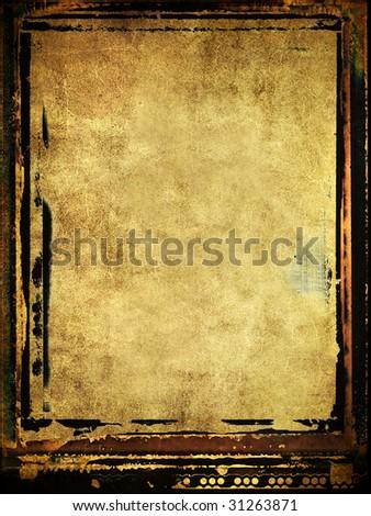 framed grunge background