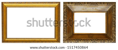 Frames paintings gold antique antiquity museum