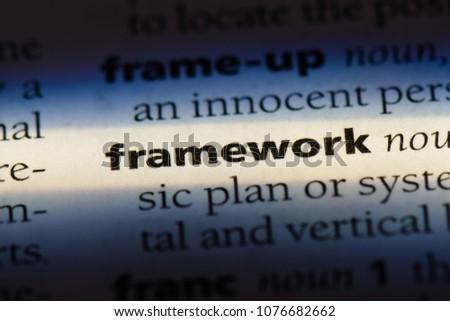 framework framework concept.