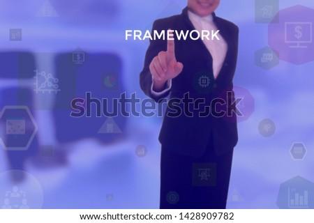 FRAMEWORK - technology and business concept