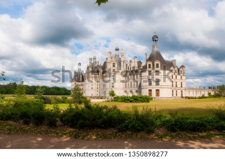 france chambord chateau #1350898277